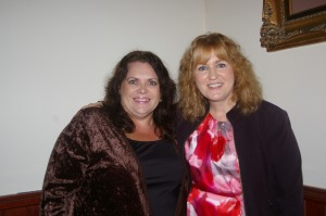 Authors Helen Lacey and Louise Cusack